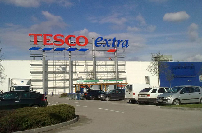 UK Supermarket Tesco Gets Free WiFi