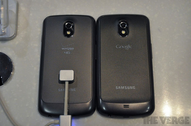 Verizon Galaxy Nexus Appears In Samsung Store