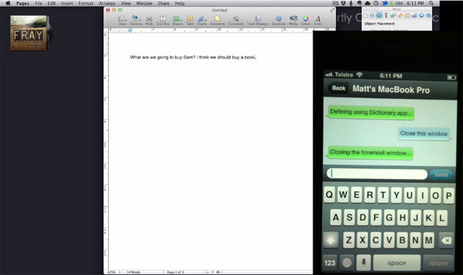 Vocal Controls Your Mac With Your IPhone And Voice Commands