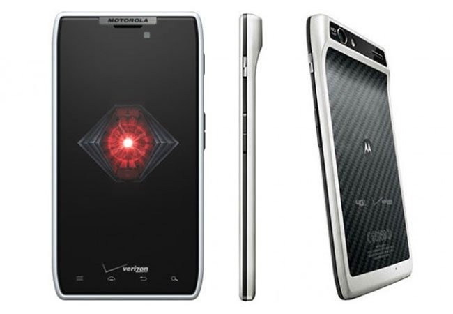 White Droid RAZR Lands On Verizon