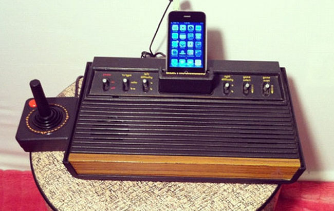 Atari 2600 iOS Dock