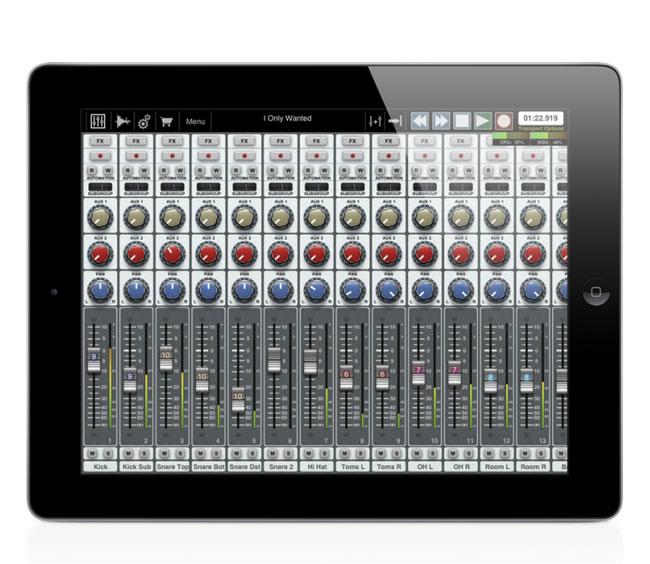 Auria 48-Track iPad Recording App