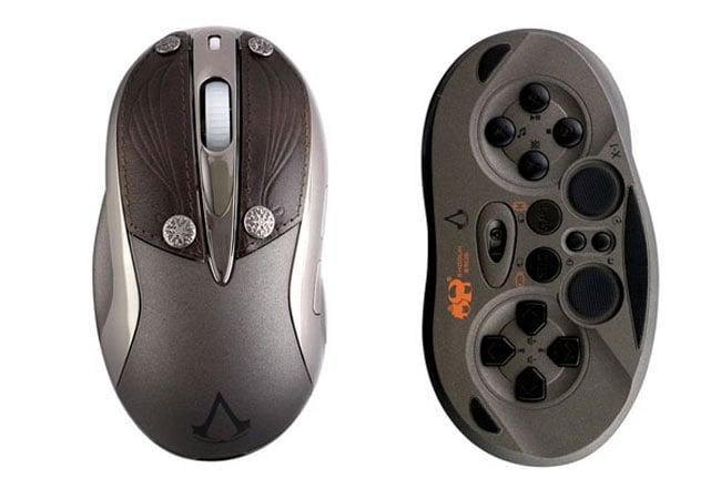Shogun Bros. Assasins Creed Revelations Chameleon X-1 Mouse Announced