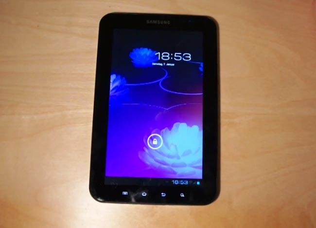 CyanogenMod 9 Galaxy Tab