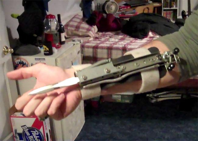 DIY Arm Blades