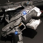 Gears of War Paper Pistol