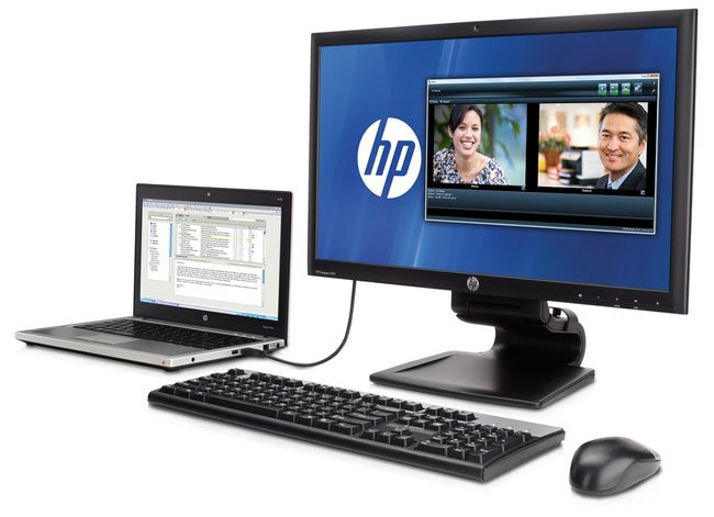 HP USB 3 Docking Monitor