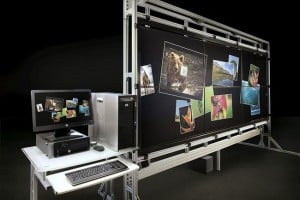 HP VantagePoint 132 Inch Multitouch Display Unveiled