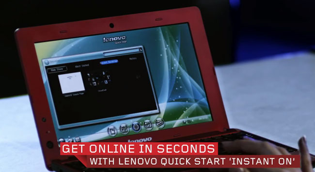 Lenovo IdeaPad S110 Nentbook Revealed (Video)
