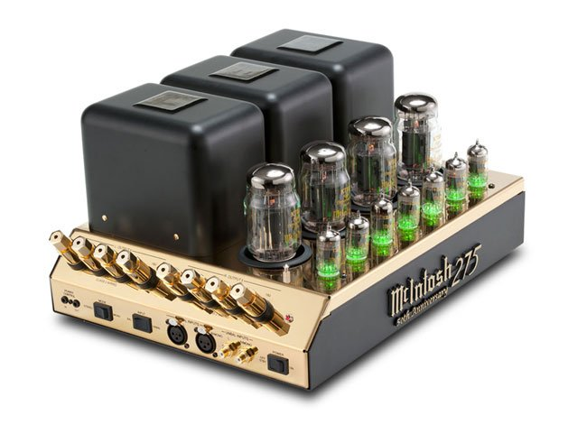 McIntosh MC275 tube amplifier