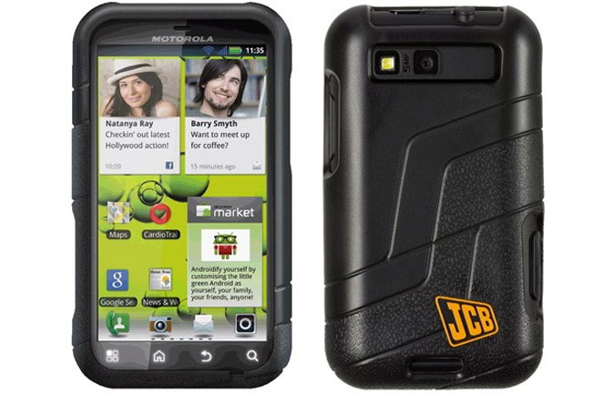 Motorola Defy+ JCB Edition