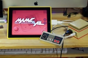 NES Controller Hacked To Play iCade iPad Games