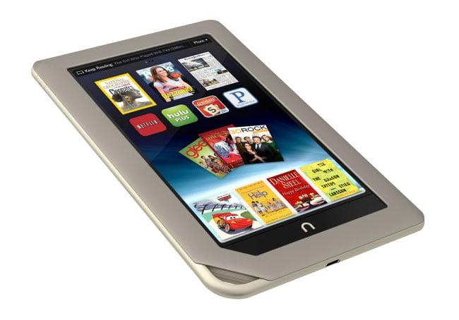 Nook Tablet SD Card bootloader