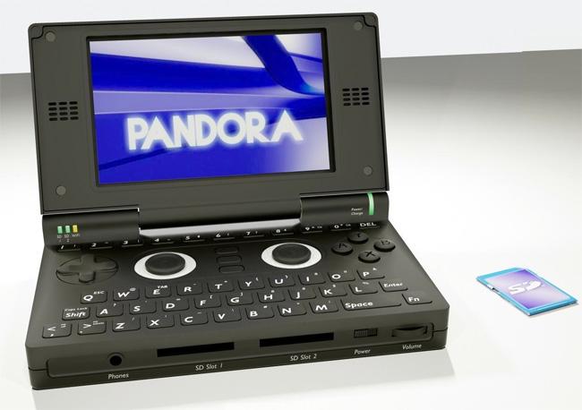 Pandora Linux Games Console