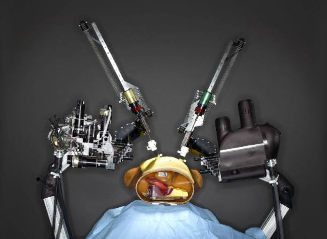 Raven surgical robot