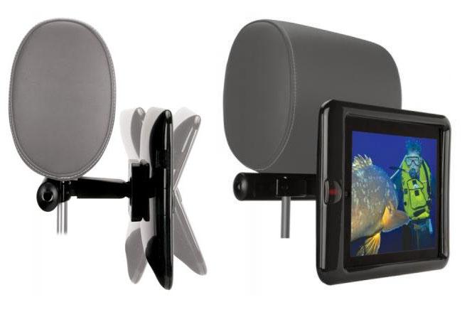 Scosche's backSTAGE Pro II iPad 2 mount