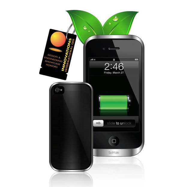 Solmate Iphone Solar Charger And Battery Case Video