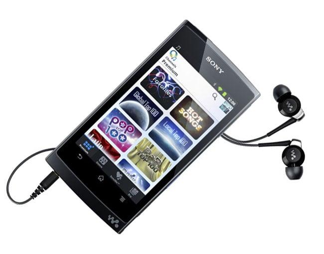 Sony Android Walkman Z Series