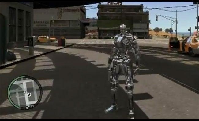 Terminator GTA Mod