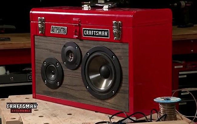 Toolbox Boombox