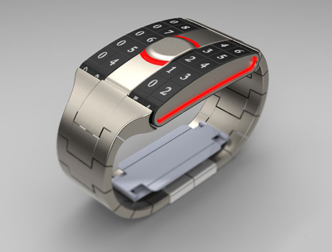 Trax Concept Watch