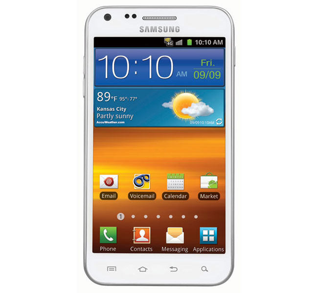 White Samsung Galaxy S II Epic Touch 4G