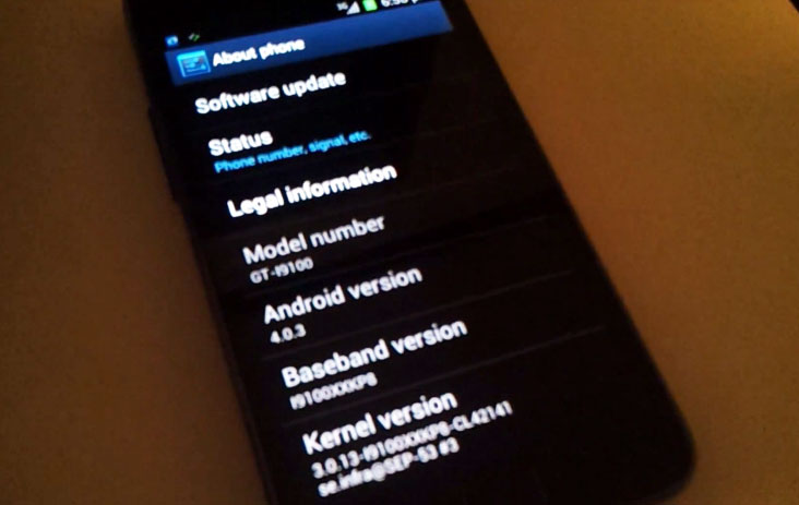 Samsung Galaxy S II Android 4.0 ICS Alpha Update Leaked (Video)