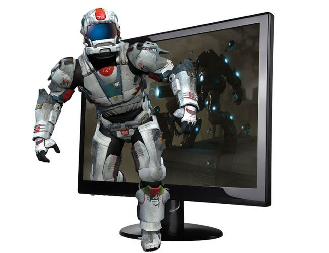 AOC E2352PHz 3D Monitor Supports PC, PS3, and Uses Passive Glasses