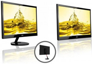 AOC 22-inch e2251Fwu Display Needs One USB Port
