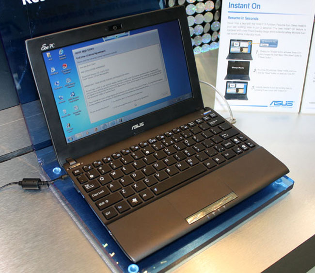 Asus Netbooks With Intel Cedar Trail To Launch At CES 2012