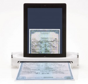 iConvert Scanner Scans Documents To Your iPad (Video)