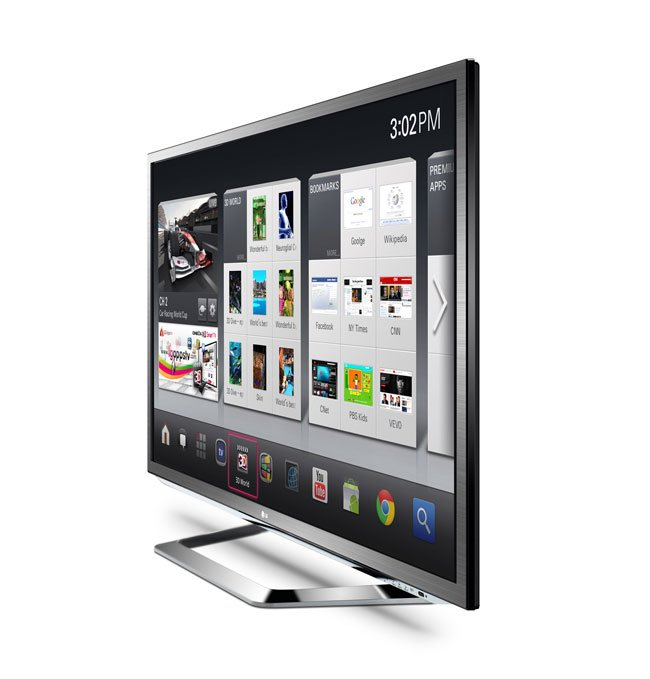 LG To Launch 3D Google TV At CES