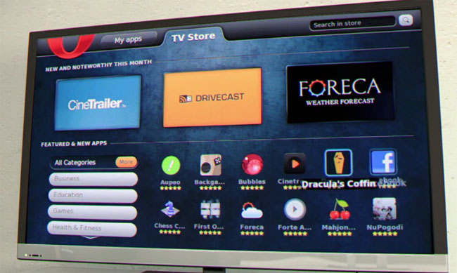 Opera TV App Store