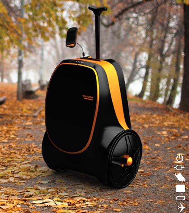 Rolling Suitcase Concept
