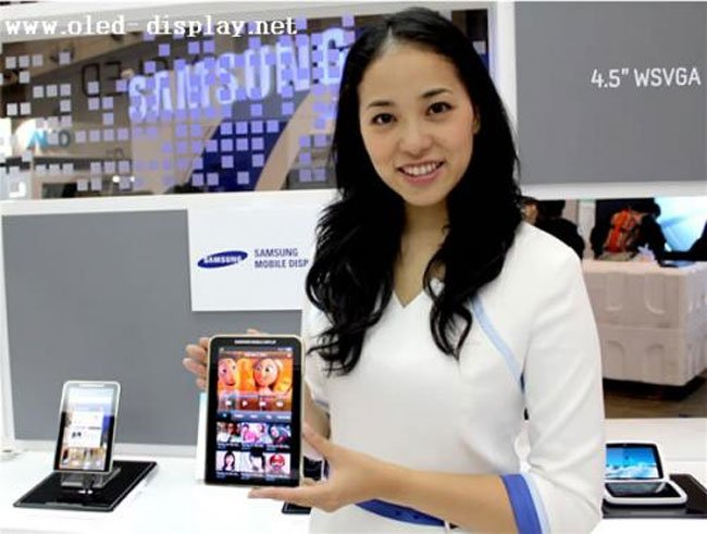 Samsung To Launch 7 Inch Galaxy Tab Wirth AMOLED Display?