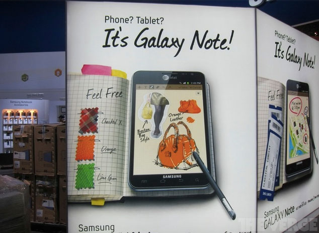 Samsung Galaxy Note For AT&T Confirmed At CES
