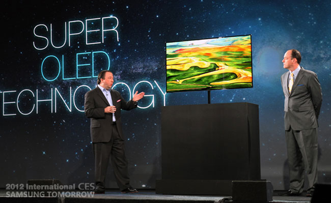 Samsung Announces 55 Inch Super OLED TV