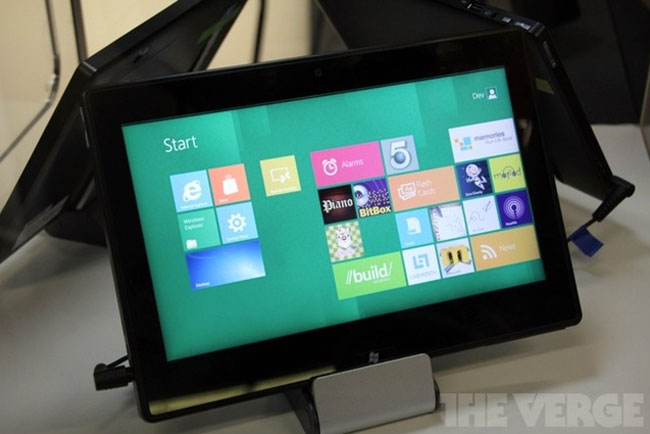 TI Windows 8 Tablet