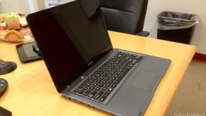 Toshiba Shows Off 14 Inch Ultrabook Prototype At CES 2012