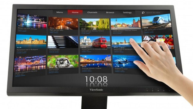 ViewSonic 23 Inch Multi-touch Monitor Announced