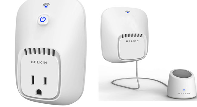There Are Two Parts To The WeMo Line Right Now Home Control Switch Will Sell For 4999 And Is A Device That Plugs Into Your Outlet