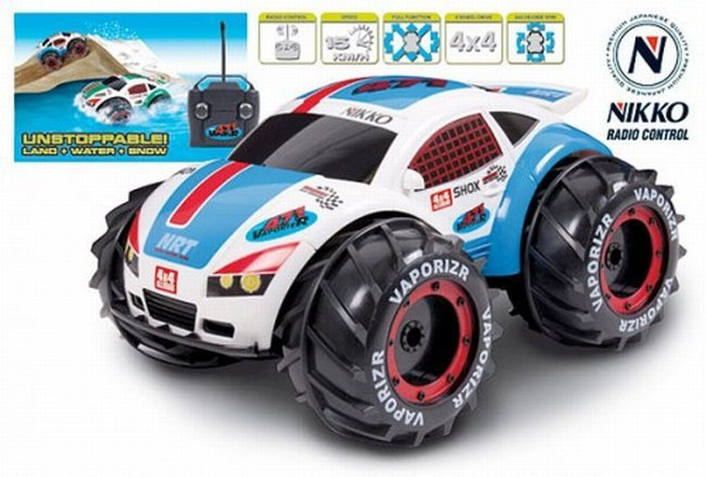 nikko vaporizr toy car can beat different terrain. Black Bedroom Furniture Sets. Home Design Ideas