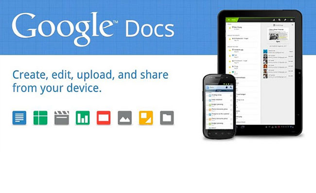 Android Google Docs