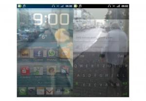 Android Transparent Screen