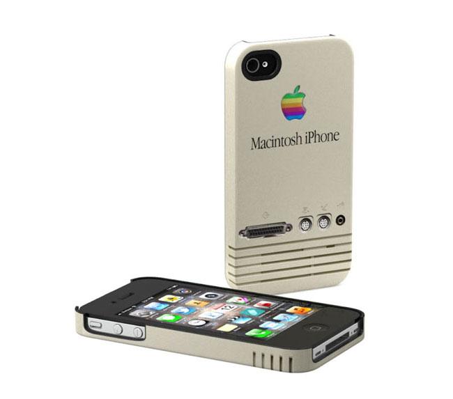 Apple Retro iPhone Case