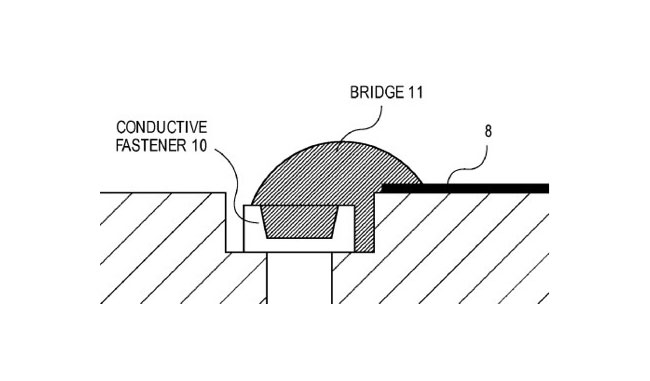 Apple Water Detection Patent