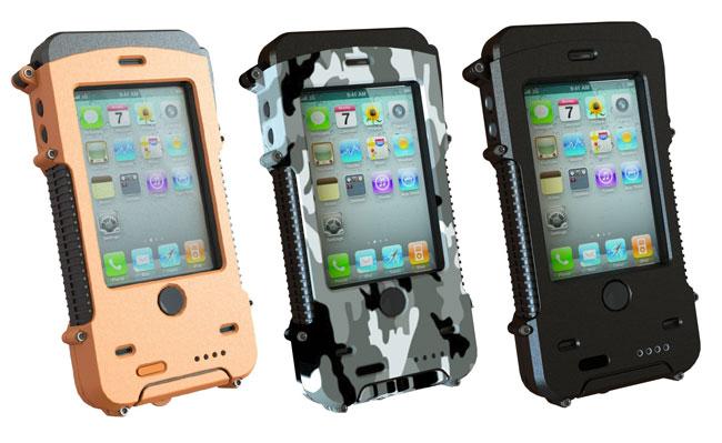 Aqua Tek S Ultra Rugged Waterproof Solar Powered Iphone