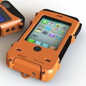 Aqua Tek S Ultra Rugged, Waterproof Solar Powered iPhone Case (video)