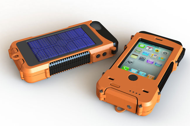 meet 8a5a9 664a4 Aqua Tek S Ultra Rugged, Waterproof Solar Powered iPhone Case (video)