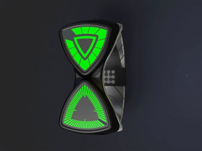 Artifact LED Concept Watch